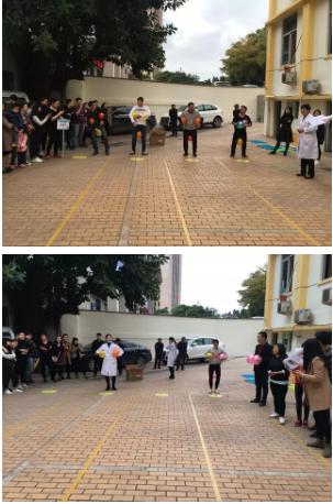 拼博吧18!福州医博肛肠医院举办第二届迎新趣味运动会